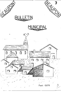 documentation PDF Bulletin municipal - Année 1979
