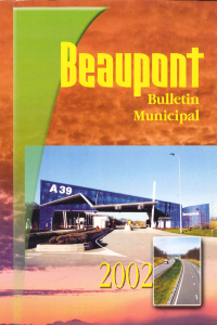 documentation PDF Bulletin municipal - Année 2002